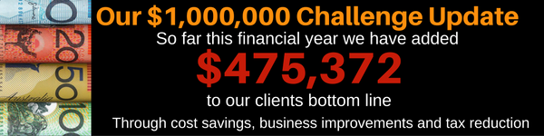 Our 1000000 Challenge Update 1 Business Accountants Perth