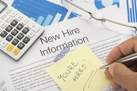 Approved New hire information employment form