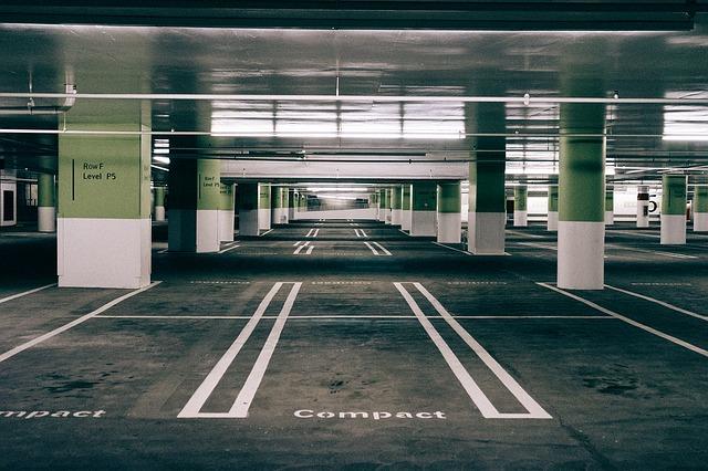 car parking space