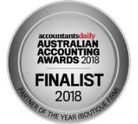 Australian Accounting Awards 2018 Finalist